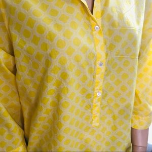 Lands' End Tops - LANDS' END Yellow Buttons Pullover size 24W top